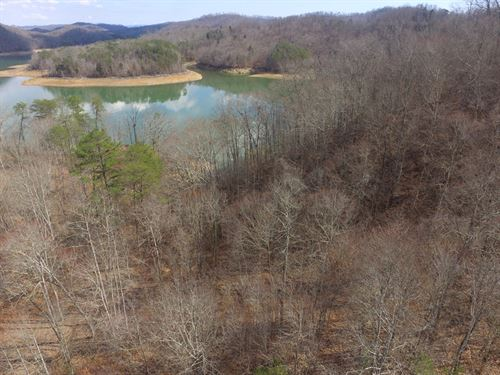 3.4 Acres Norris Lake Main Channel : New Tazewell : Claiborne County : Tennessee