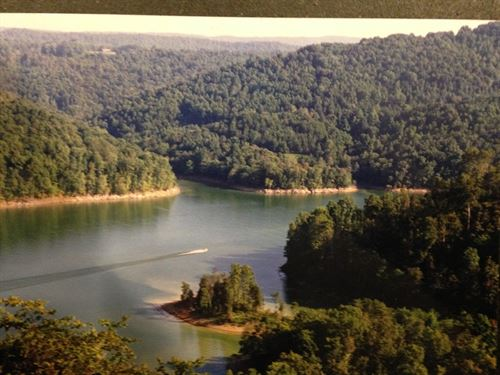2.87 Acres Norris Lake Main Channel : New Tazewell : Claiborne County : Tennessee
