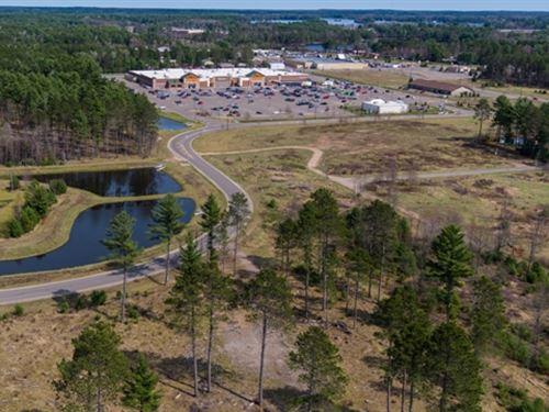 11.36 Acres With Deeded Lake Access : Woodruff : Oneida County : Wisconsin