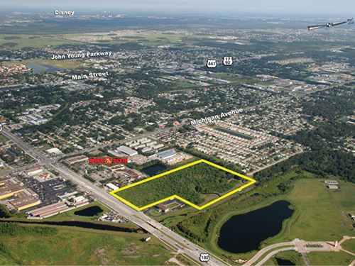 Commercial Near Valencia College : Kissimmee : Osceola County : Florida
