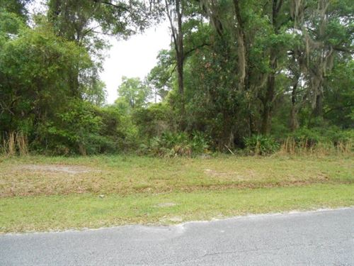 1.06 Acre Home Site 771788 : Chiefland : Levy County : Florida