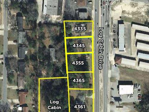 3.16 Acres In 6 Tracts : Macon : Bibb County : Georgia