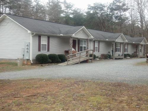 Triplex & House Income Property : Ellijay : Gilmer County : Georgia