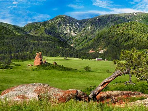 Sandstone Ranch : Larkspur : Douglas County : Colorado