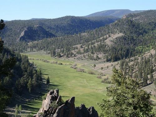 Rock Canyon Ranch : Powderhorn : Gunnison County : Colorado
