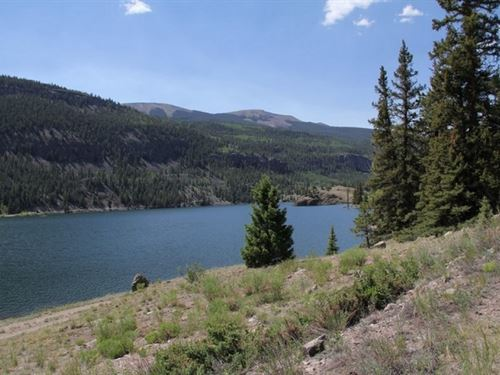 Lake San Cristobal Views : Lake City : Hinsdale County : Colorado