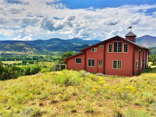 Unique Mountain Retreat : South Fork : Rio Grande County : Colorado