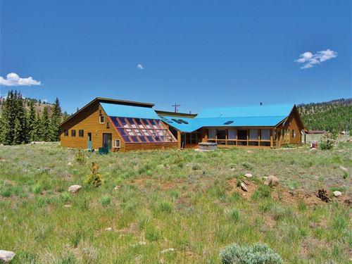 Charming Mill Creek Cabin : South Fork : Rio Grande County : Colorado