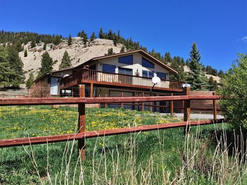 San Juan Hills Mountain Home : Lake City : Hinsdale County : Colorado