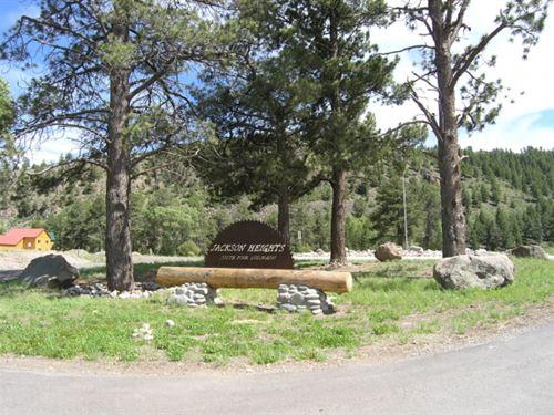 Jackson Heights Lot 7 : South Fork : Rio Grande County : Colorado