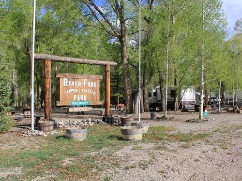 Lake Fork Rv Park : Lake City : Hinsdale County : Colorado