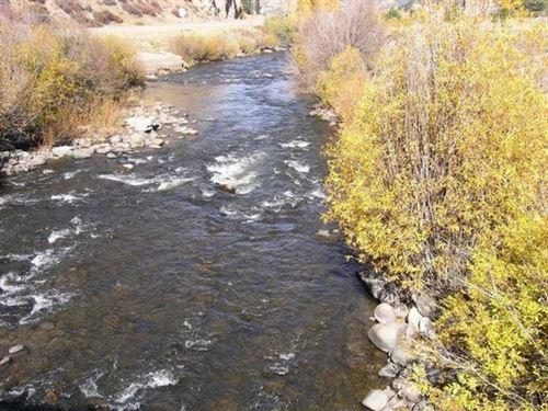 Red Bluff River Lot : South Fork : Rio Grande County : Colorado