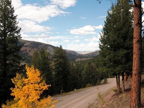 Panoramic Views In San Juan Ranch : Lake City : Hinsdale County : Colorado