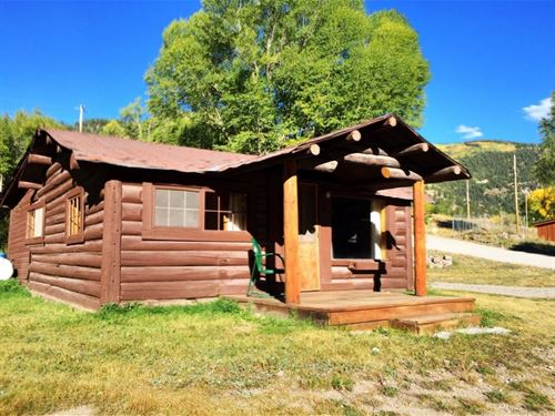 Horse River Ranch, Cabin 4 : Lake City : Hinsdale County : Colorado