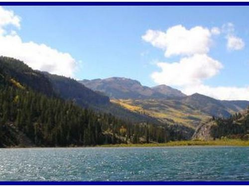 Lake San Cristobal Homesite : Lake City : Hinsdale County : Colorado