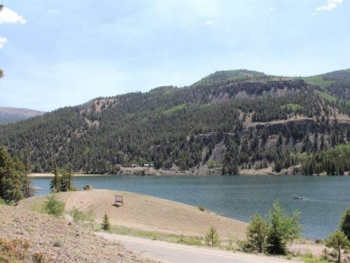 Lake San Cristobal Overlook, Lot : Lake City : Hinsdale County : Colorado