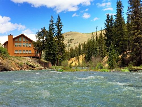 Majestic River Home : Lake City : Hinsdale County : Colorado