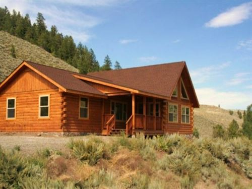 End Of The Road Ranch : Powderhorn : Gunnison County : Colorado