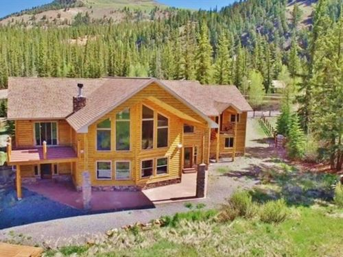Lakefront Mountain Home : Lake City : Hinsdale County : Colorado