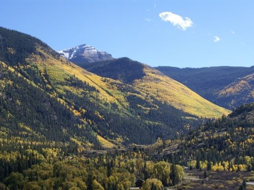 Private Mountain Retreat : Lake City : Hinsdale County : Colorado