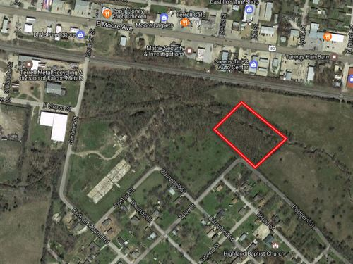 Motivated Seller 3.5 Ac In Terrell : Terrell : Kaufman County : Texas
