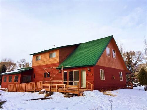 South Fork River Cabin : South Fork : Rio Grande County : Colorado