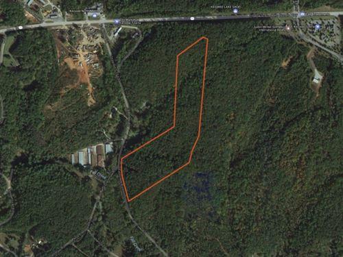 24.73 Acres Great Location Right : Salem : Oconee County : South Carolina
