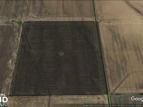 Harrison County Perfect 40 W/ Cente : Modale : Harrison County : Iowa