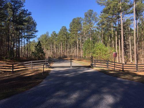 Beautiful 4.92 Acres Of Wooded Land : Monroe : Walton County : Georgia