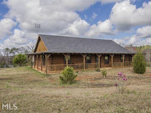 Home + Equine Training Facility : White Plains : Hancock County : Georgia