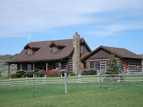 Crazy Mountain Foothills Ranch : Wilsall : Park County : Montana
