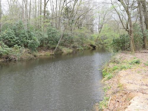 8 Wooded Acres On A Creek : Tylertown : Walthall County : Mississippi