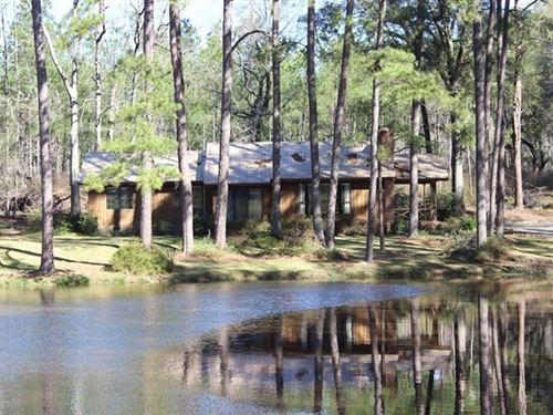 County Retreat With Hunting & Pond : Thomasville : Thomas County : Georgia