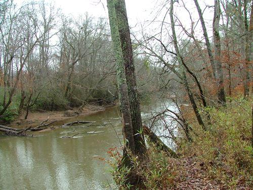 Yellow River, Creek, Pasture : Covington : Newton County : Georgia