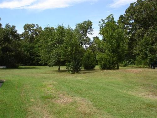 Country Home Lot For Sale In Lamar : Powderly : Lamar County : Texas