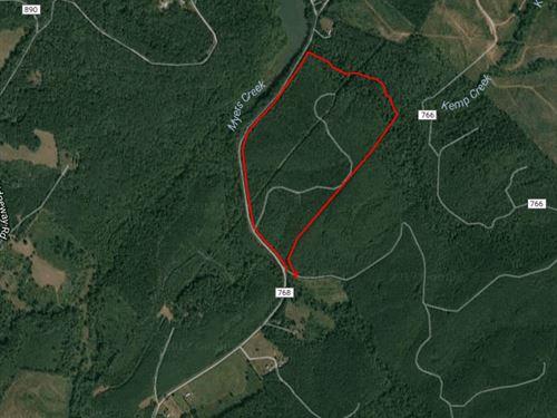 90+/- Wooded Acres On Bibee Road : Pittsville : Pittsylvania County : Virginia