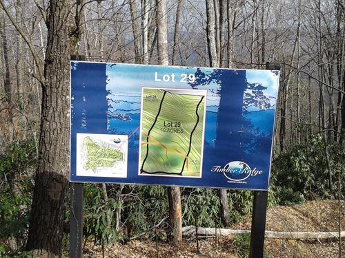 Lot 29 Timber Ridge Subdivision : Ferguson : Wilkes County : North Carolina