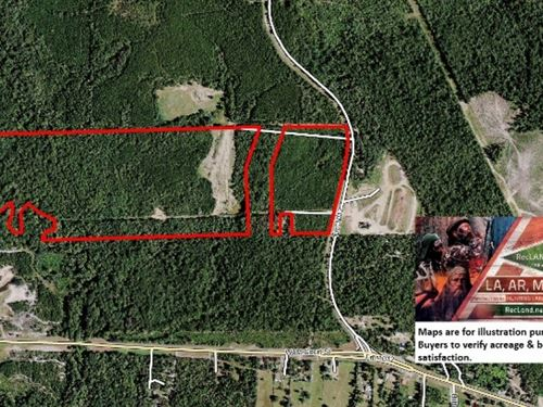 29.5 Ac - Timberland For Hunting Or : Newton : Texas