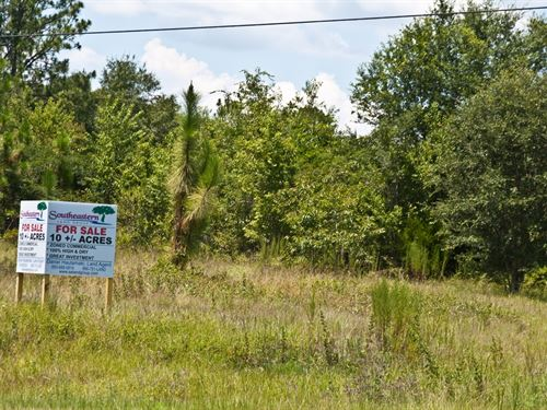 Commercial Property On Hwy 231 : Cottondale : Jackson County : Florida