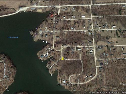 4 Lots, Water View, Leisure Lake, M : Trenton : Grundy County : Missouri