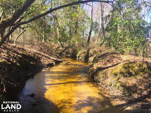Mt. Pisgah 76 Acre Recreational Tra : Kershaw County : South Carolina
