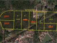 3-5 Acre Wooded Home Sites : Jackson : Butts County : Georgia