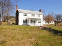 Blue Ridge Mountain Farm House : Fries : Grayson County : Virginia