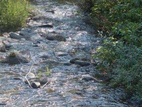 California 40 Ac.Miningclaim Creeks : Weaverville : Trinity County : California