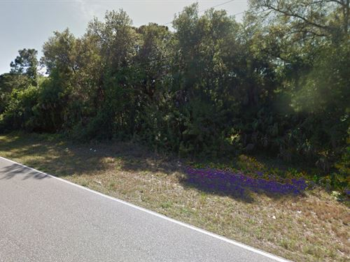 Buildable Lot For Sale : Port Charlotte : Charlotte County : Florida
