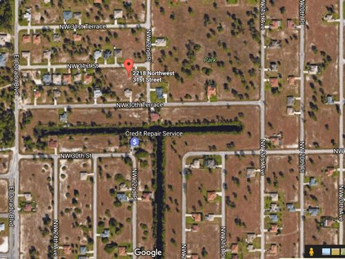 Vacant Residential Lot : Cape Coral : Lee County : Florida