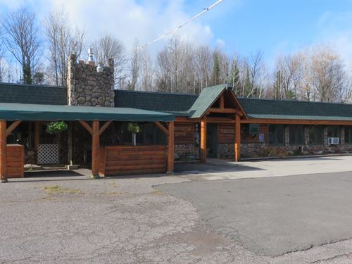 Great Commercial Property On 3 Lake : Winchester : Vilas County : Wisconsin