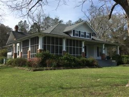 Beautiful 6 Bedroom Home On 31 Acs : Union Springs : Bullock County : Alabama