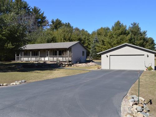 Ranch Home W/ Acreage Oxford : Oxford : Marquette County : Wisconsin