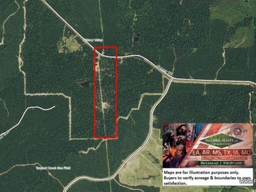 40 Ac Hunting & Timber With Ho : Sikes : Winn Parish : Louisiana